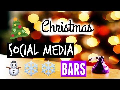 Chrismas Social Media Bars Green Screens! | Jasmine