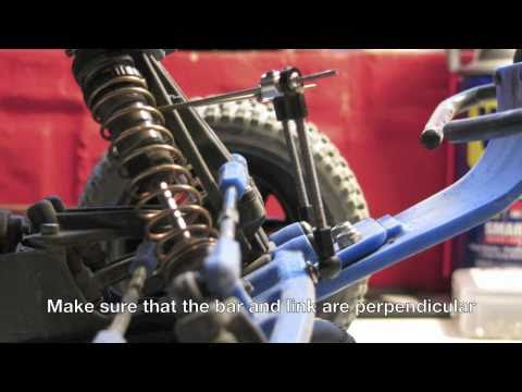 How to install a front sway bar on a SC10