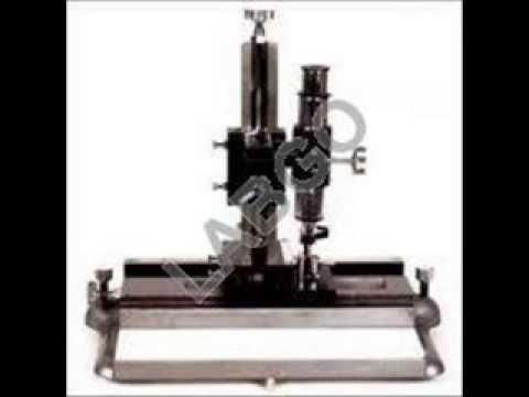 travelling microscope manufacturers in india video