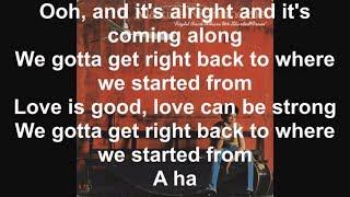 Right Back Where We Started From - Lyrics - Maxine Nightingale