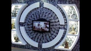 #x202b;أحدث ديكورات مكتبات شاشة أشكال دائرية رائعة#x202c;lrm;