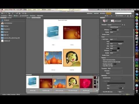 PDF Portfolio Using Adobe Bridge CS6