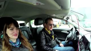 Константин Хабенский за рулем такси