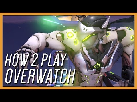 How 2 Play Overwatch! (Funny Moments Gameplay)