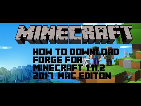 How to get mods on minecraft. FORGE {2017} 1.11.2. Mac Editon