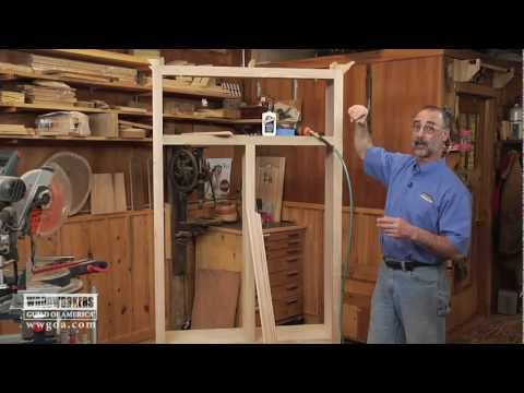 Installing Crown Molding On A Cabinet with Titebond No-Run, No-Drip Wood Glue