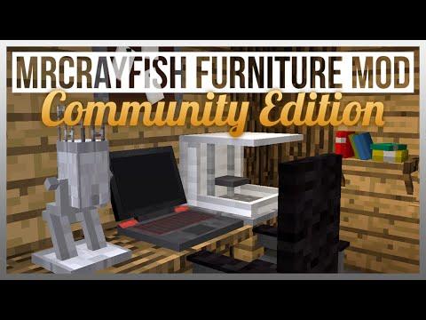 OFFICE TOUR! - MrCrayfish's Furniture Mod CE Update #3 - Office Furniture!