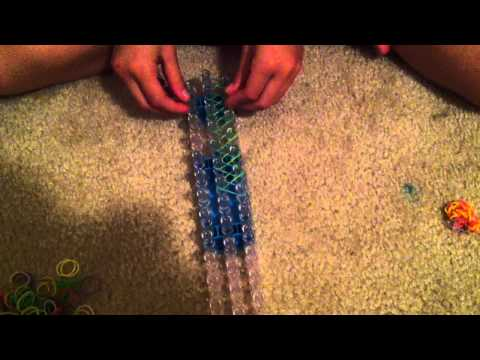 How to make simple rainbow loom with tina marie