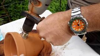 Download How I drill holes in clay pots Video