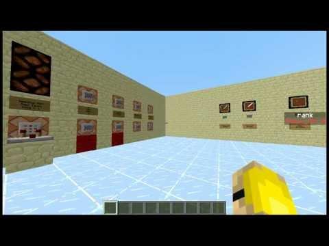 Perks and Ranks | Scoreboard | Command Block Tutorial
