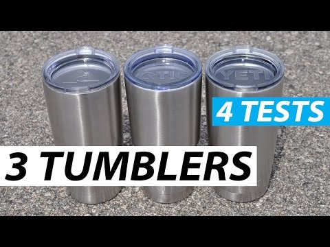 Yeti vs Ozark vs RTIC - Tumbler Comparison