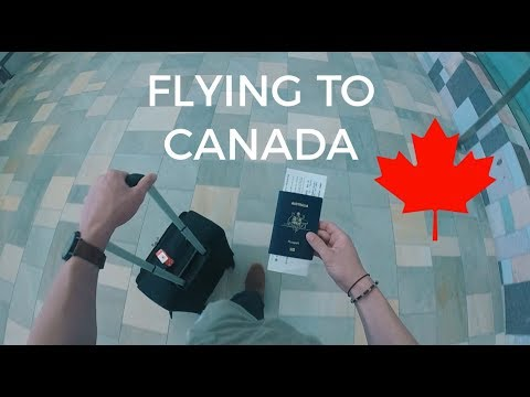Flying To CANADA!!