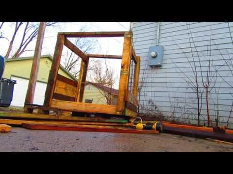 american scrappers: how to build a chicken coop DIY