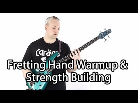 Awesome Finger Strength Exercise and Warmup for Bass