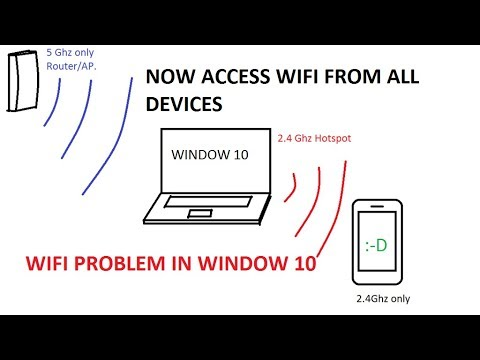 How to change wifi from 5ghz to 2 4ghz in window 10 | 2017 new