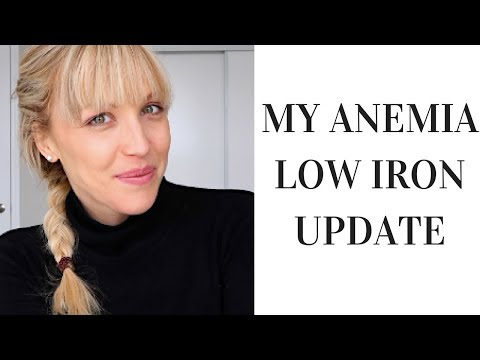 ANEMIA LOW IRON MY LATEST UPDATE AND BLOOD RESULTS