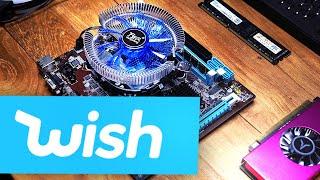 ENDLICH!! Wir bauen den WISH.com GAMING PC... #GamingSchrott
