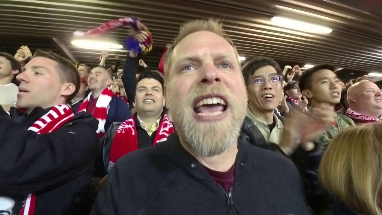 Fans Liverpool vs Barcelona