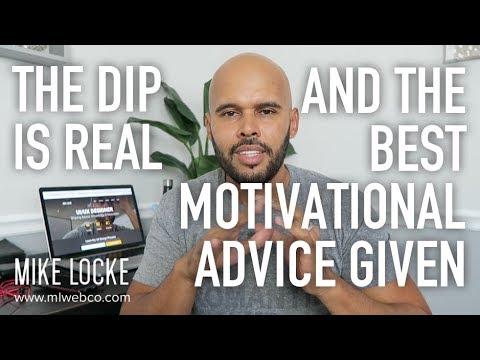 The Dip & The Best Advice I've Ever Received - Career Advice for Aspiring UI/UX Designers