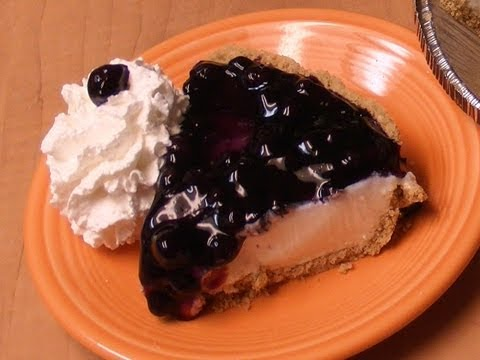 Blueberry Cheesecake Pie with Michael's Home Cooking
