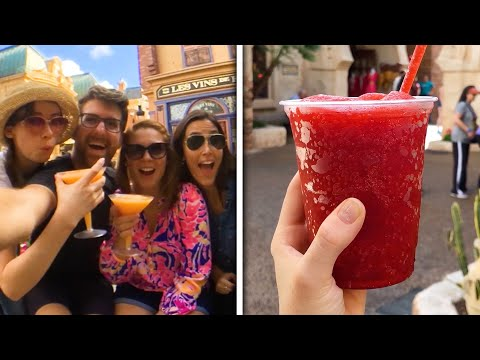 Drink Around The World At Disney's Epcot World Showcase