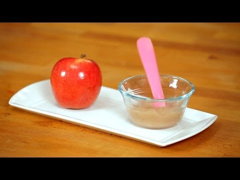 How to Make Baby Applesauce | Baby Food
