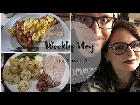 Weekly Vlog | Hummus Fail, Gigs & More Snow!