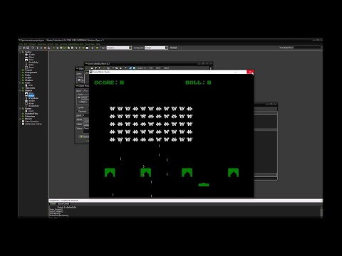 First hour of creating Space Invaders inside GameMaker: Studio