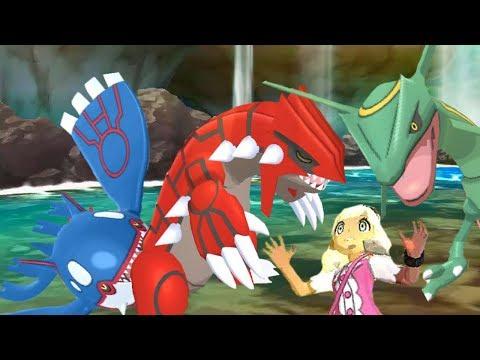 Mega Launcher + Kyogre's Origin Pulse! Pokemon Ultra Sun and Pokémon Ultra Moon Battle Spot #89