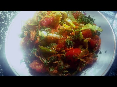 Kathiyawadi salad recipe/kobi gajar nu khariyu/ऐसे बनाये गोबी गाजर का सलड/કોબી ગાજર નુ( કાચું )ખારીચ