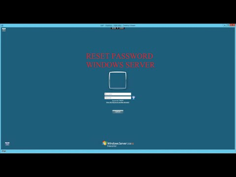 Reset Password Windows Server 2008