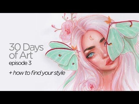 How to find your style || 30 Days of Art Episode 3