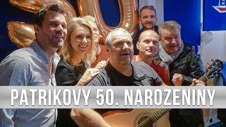 Jak PATRIK HEZUCKÝ oslavil 50. narozeniny ve studiu EVROPY 2?