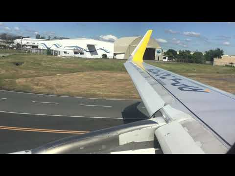 Cebu Pacific Clark to Puerto Princesa take off