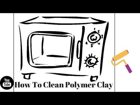 How To Clean Your Polymer Clay!