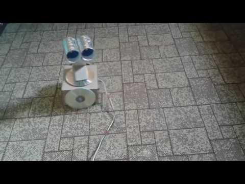 روبوت محلية الصنع Wall-e _ Homemade Robot