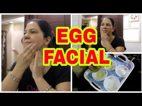 EGG FACIAL FOR SKIN TIGHTENING AND BRIGHTENING | GLOWING SKIN | ROYAL STYLE