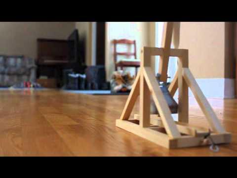 Working Model Trebuchet