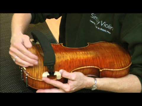How to put a Shoulder Rest on a Violin
