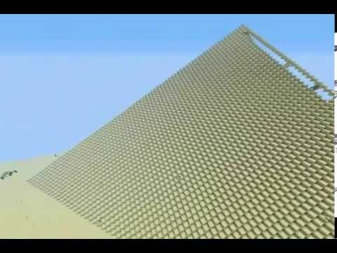 The Great Pyramid of Giza scale 1:1 Masiv building 6.000.000 Pieces ( Part 2 )