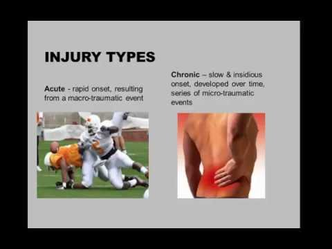 1  Tissue Damage and Injuries 5 30 2016