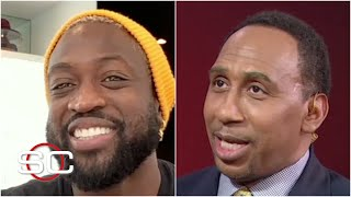 Dwyane Wade joins Stephen A. to react to the Heat's surprising playoff run   SportsCenter