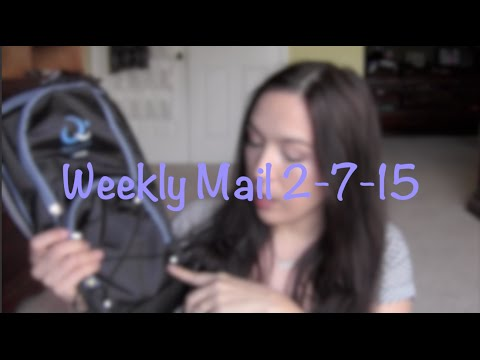 Freebies and Mail 2-7-15