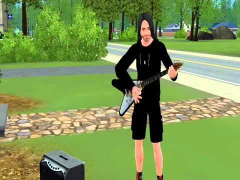 Mastered Guitar Skill The Sims 3