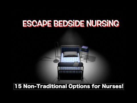 Nursing Beyond the Bedside I Non-clinical jobs, corporate nursing jobs even jobs for ex nurses!