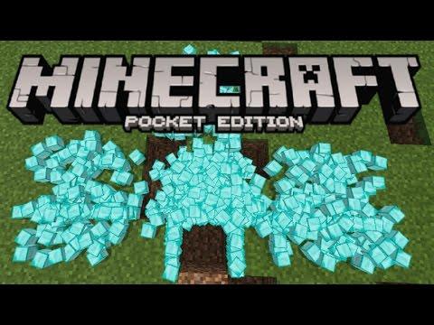 Minecraft PE - How To Get Infinite Diamonds & Ores! (Command Block Tutorial!)
