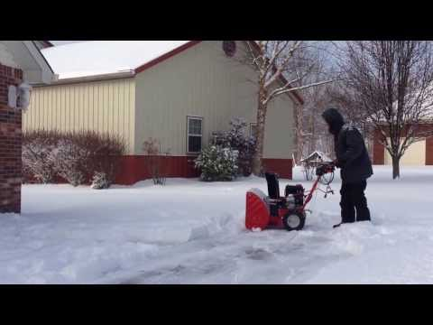 Snow Blower Time!