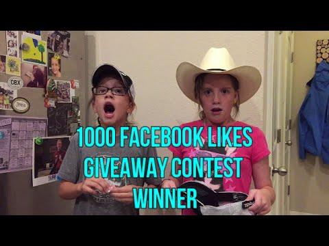 1000 Likes Facebook Contest - Winner Announcement