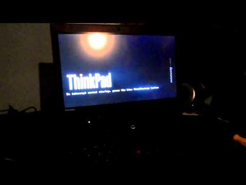 Lenovo ThinkPad X220 Tablet Windows 8 msata SSD Boot and Shutdown
