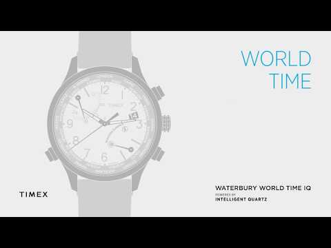 TIMEX WORLD TIME - SETTING WORLD TIME - HOW TO VIDEO